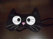 mascara dormir gatinho