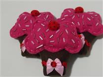 Mobile de cupcakes
