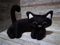 Peso de porta Cat Black