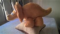Peso de porta dinossauro triceratops