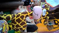 Peso de Porta Girafa
