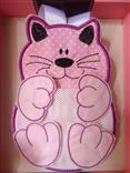 Porta carregador celular gato
